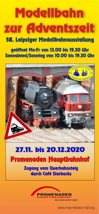 58. Modellbahnausstellung zur Adventszeit